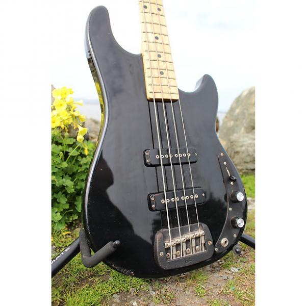 Custom G&L SB-2 Bass Fullerton USA 1983 Black Ebony #1 image