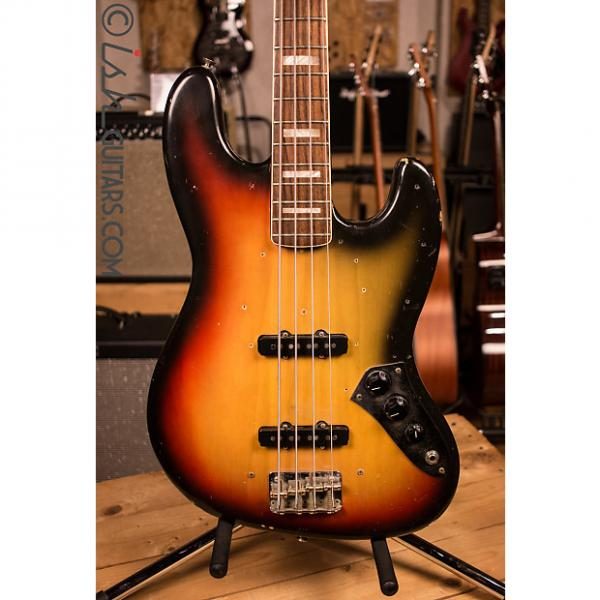 Custom Fender Jazz Bass 1971 Sunburst Original w/ Case #1 image