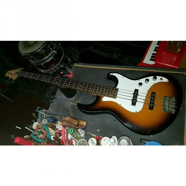 Custom Samick Greg Bennett Fairlane FN-1/TS Bass in a Tobacco Burst, Comfortable Player! #1 image