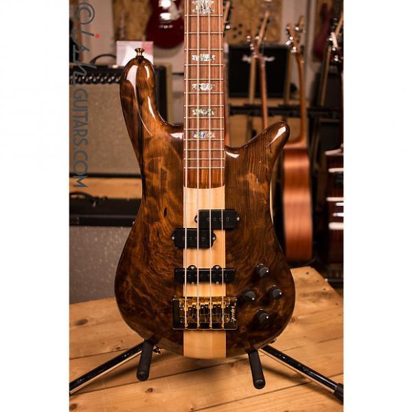 Custom NAMM Spector NS-2 Water Cured Redwood Gloss Bass Guitar #1 image