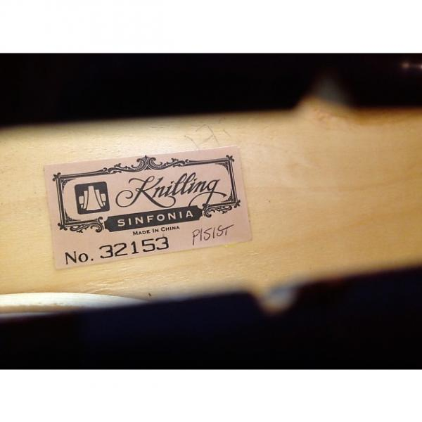 Custom Cello - KNILLING 3/4 Cello & bow and bag case AS IS #1 image