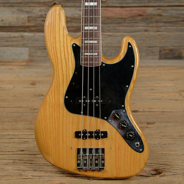 Custom Fender Jazz Bass RW Natural 1978 (s140) #1 image