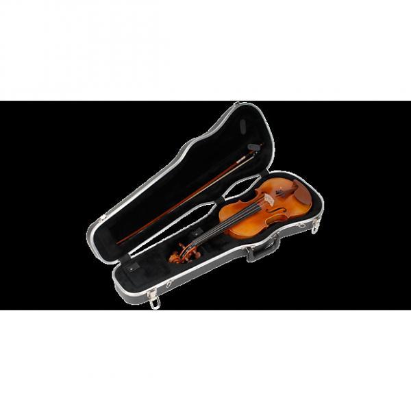 """Custom SKB SKB244 4/4 Violin / 14"""" Viola Deluxe Case New never used #1 image"""