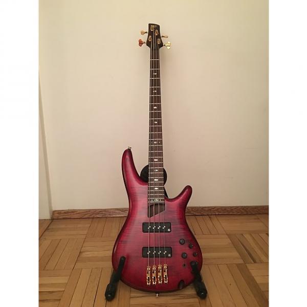 Custom Ibanez SR1400E DRF SR Series Premium 4-String Bass 2015 Deep Rose #1 image