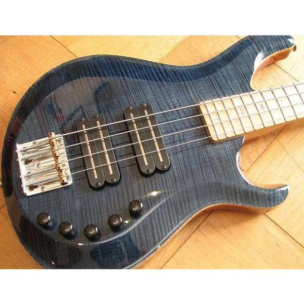 Custom Paul Reed Smith PRS Gary Grainger 4-string Bass 2010 Faded Whale Blue #1 image