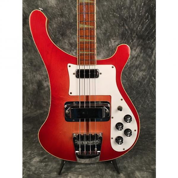 Custom Rickenbacker 4001 Bass 1974 Fireglo Sunburst Nice #1 image