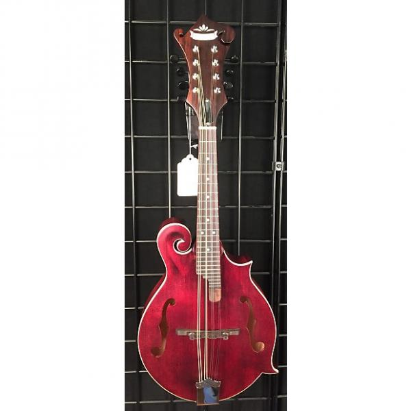 Custom Morgan Monroe American Roots MM-300WR Mandolin, Wine Red #1 image