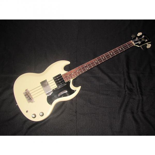Custom Gibson EB-0 1962 White #1 image