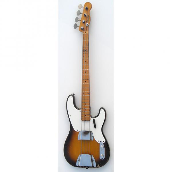 Custom Fender Precision 1956 Sunburst #1 image