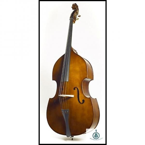 Custom Stentor 1951 3/4 Size Student Series Upright Double Bass Outfit with Bow; Free Shipping #1 image