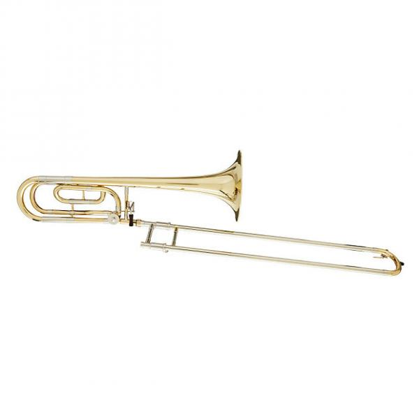 Custom Blessing BTB-88 Artist Series Trombone w/ F Attachment, Traditional Wrap, Lacquered; Free Shipping #1 image