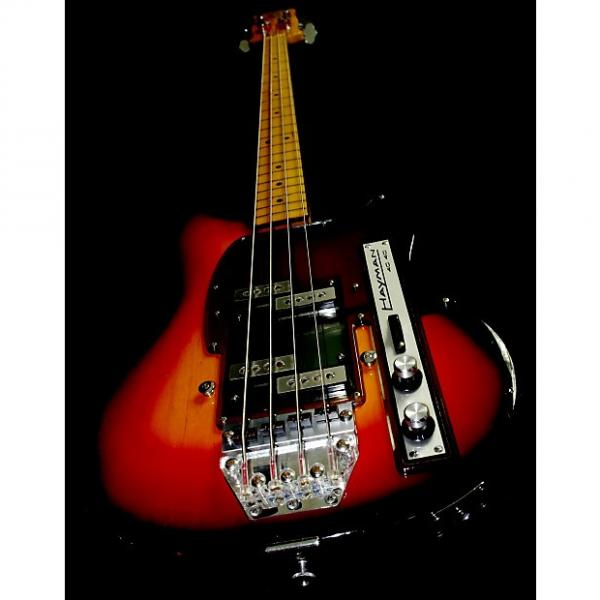 Custom Hayman 4040 Bass 1972.  A great example of Jim Burns design.  Versatile sound due to pickups. #1 image