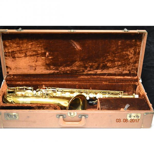 "Custom 1927 Conn New Wonder II ""Chu Berry"" Tenor Saxophone #1 image"