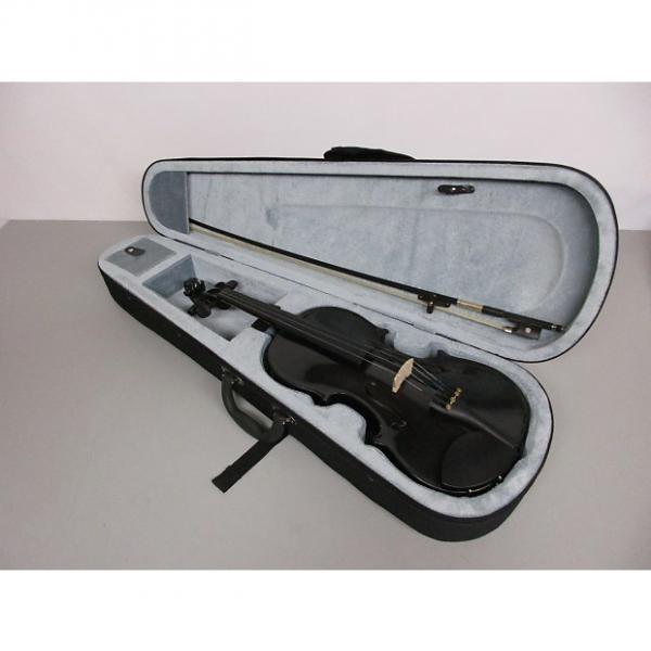 Custom Cremona SV-75 4/4 Violin Black #1 image