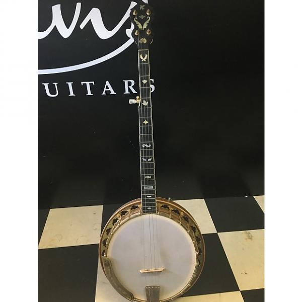 Custom White Swallow Custom 1998 Natural Banjo #1 image