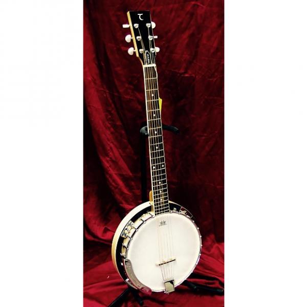 Custom Tanglewood 6 String Banjo TWB 18 M6 Natural #1 image