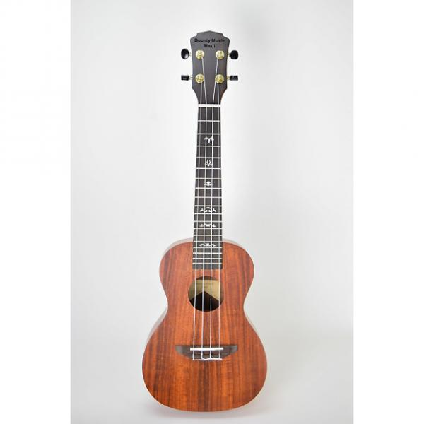 Custom Bounty Music Maui BU-C 2017 Matte Acacia Solid Wood Top Starter Package with Oahu tuner and UB-C Bag #1 image