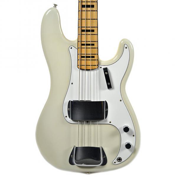 Custom Fender Custom Shop 1969 Precision Bass Closet Classic Aged Olympic White #1 image