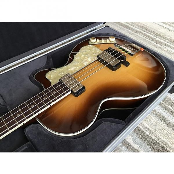 Custom Hofner 500/2 Club Bass 2004 Sunburst #1 image