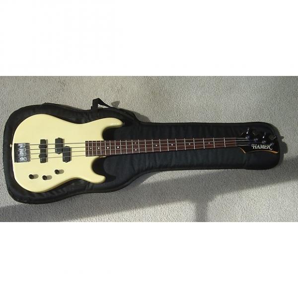 Custom Hamer Chaparrel Bass USA  cream #1 image