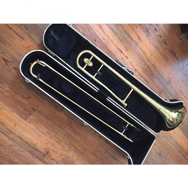 Custom Holton Tr602rw Trombone 70s 80s Yellow Brass #1 image