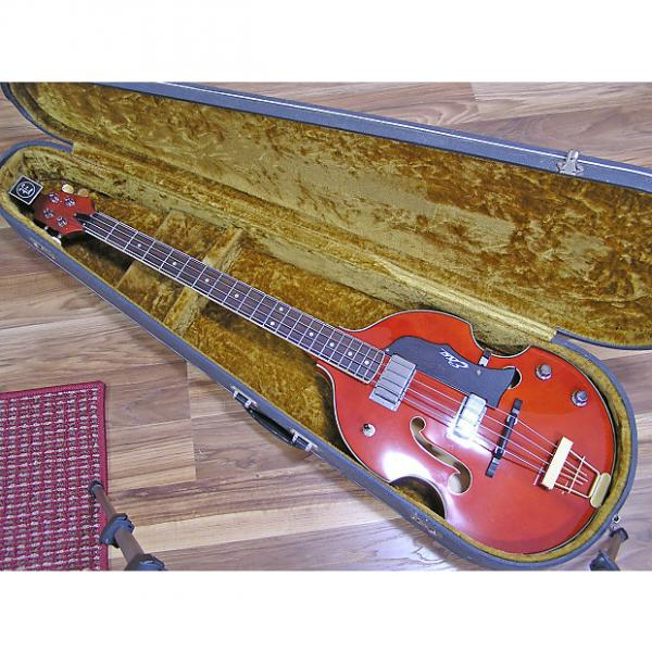 Custom Rare Eko 995 Reissue Semi-Hollow Body Violin Bass #1 image