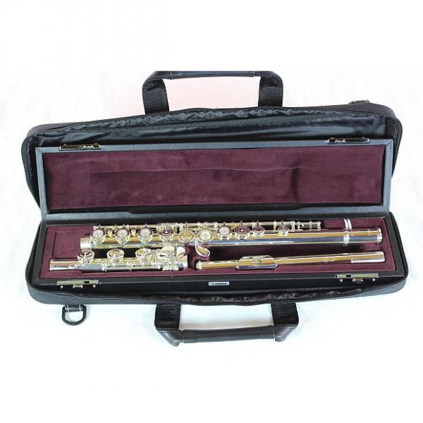 Custom Yamaha YFL-462H Advanced Solid Silver Flute MINT #1 image