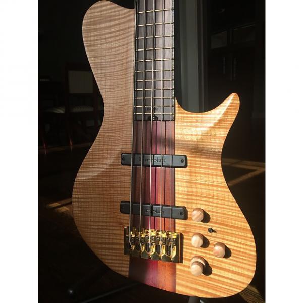 Custom Warrior Isabella 5 String Bass #1 image