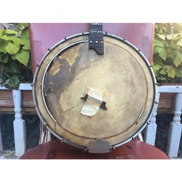 Custom Very Early 1900s Regina Mandolin Banjolin Banjo Luthier Project Orpheum? WOW! #1 image