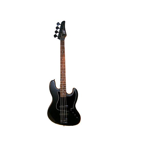 "Custom Full Size 4 String 46"" Jazz J Electric Bass Guitar and Amplifier Pack with Free Gig Bag and Accessor #1 image"