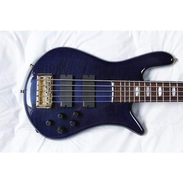 Custom Spector Euro5LX Trans Blue #1 image