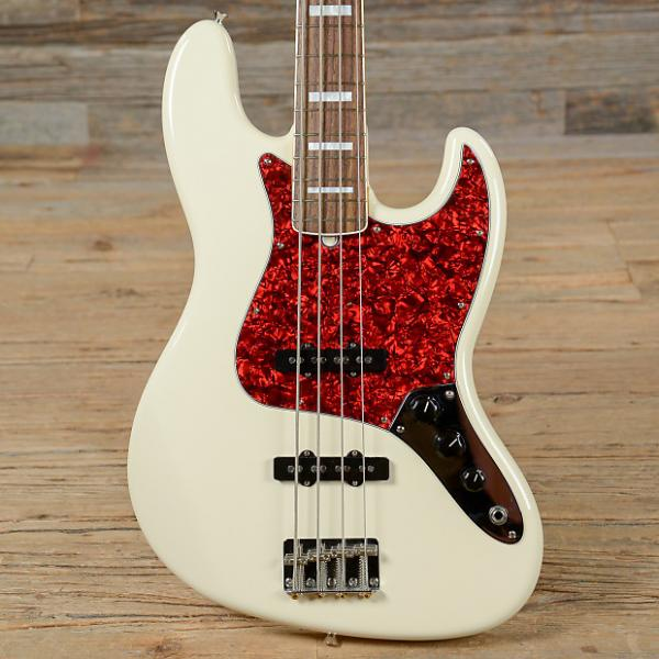Custom Fender Japan '66 Jazz Bass RW Olympic White 2013 (s410) #1 image