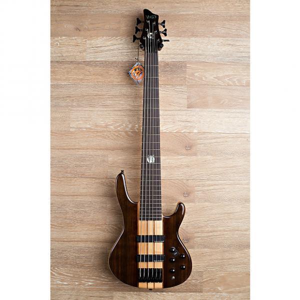 Custom 2017 Wolf S10 6 String Walnut Top Neck-Through Bass #1 image