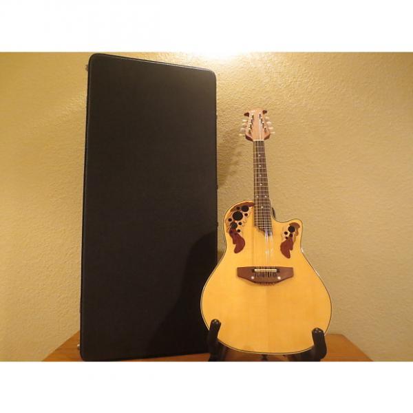 Custom Applause (by Ovation) MAE148 Natural Mandolin #1 image