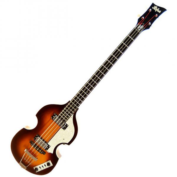 Custom Hofner Ignition Series HI-BB Violin Bass with Case #1 image