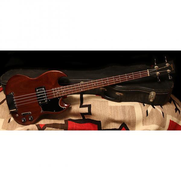 "Custom 1972 Gibson EB-4L ""Cherry"" #1 image"