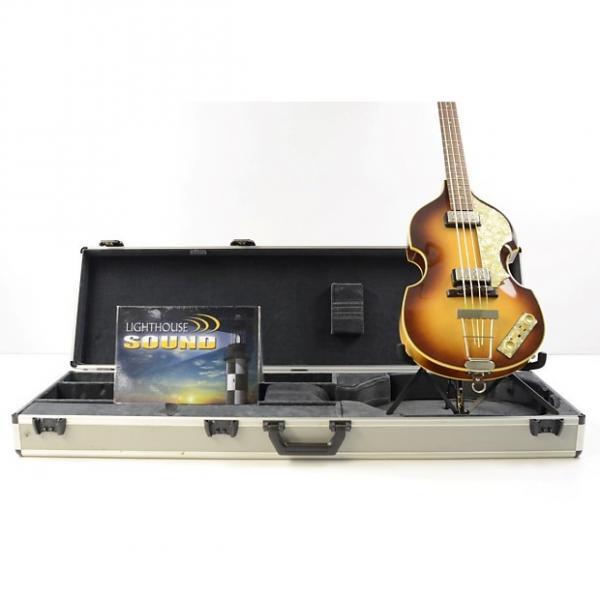 Custom Hofner 500/1 Vintage '62 Electric Violin Bass - Sunburst w/OHSC #1 image