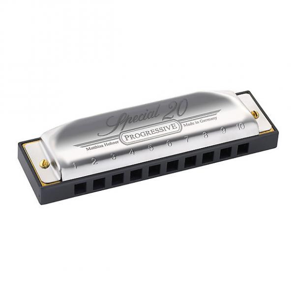 Custom Hohner 560PBXE Progressive Special 10 Classic Harmonica in Key of E #1 image