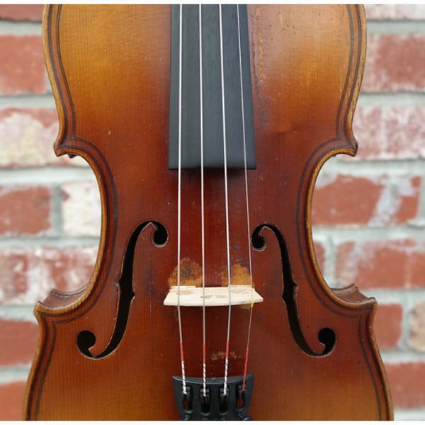 Custom German Violin Antique German Magini Style 1916 #1 image