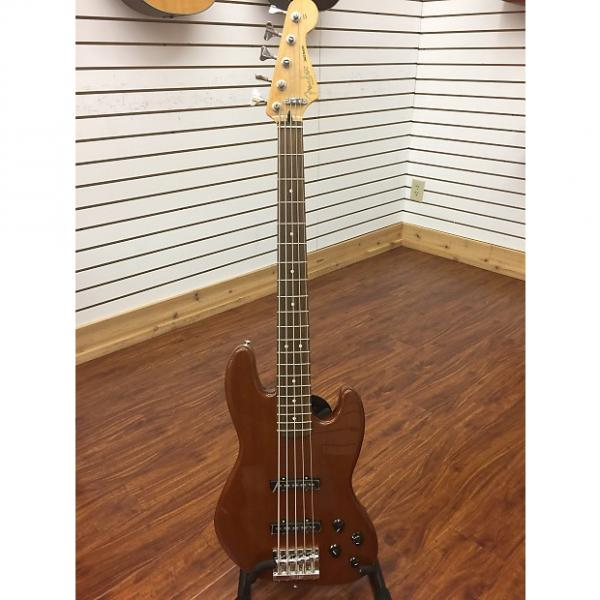 Custom Fender Active Jazz Bass 2014 Natural #1 image
