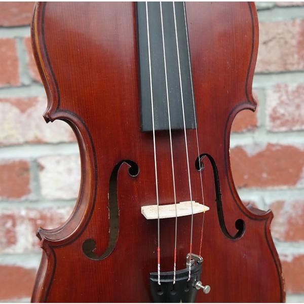 Custom Antique European Violin circa 1920 Violin S/H #1 image