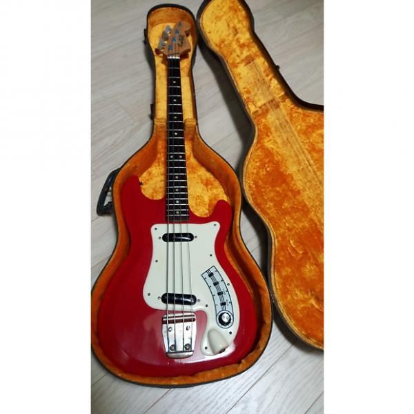 Custom Hagstom Kent Bass 64/65 (RED) #1 image