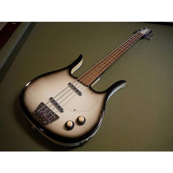 Custom Danelectro Longhorn Deluxe Bass, Silver burst #1 image