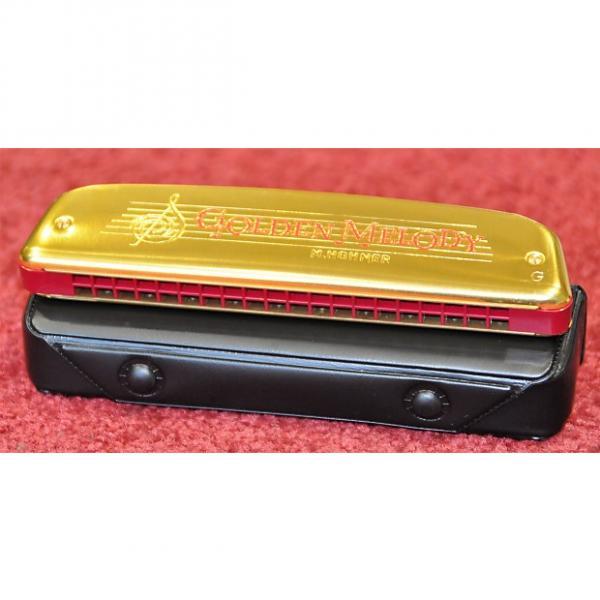 Custom Hohner Diatonic Tremolo Harmonica Golden Melody 2416/40 G / Sol M241608 - Free World Shipping! #1 image