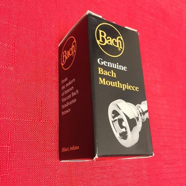 Custom Vincent Bach 5A Genuine Cornet Mouthpiece #1 image