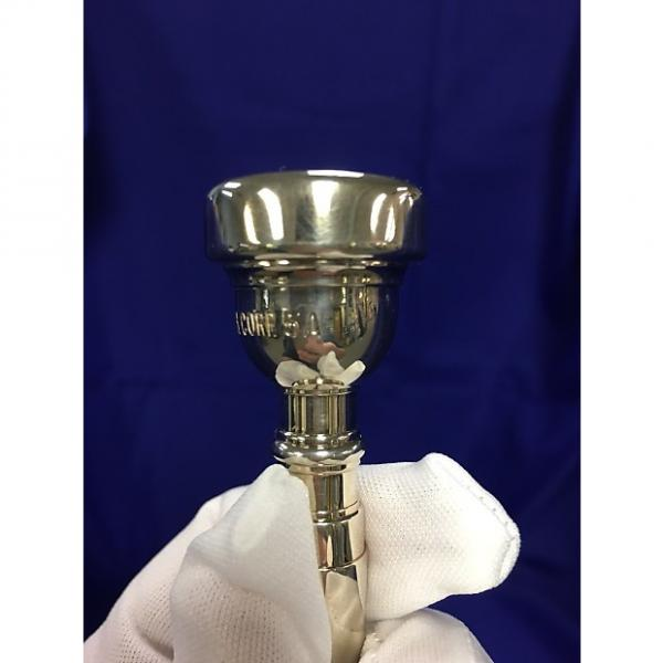 Custom Bach Trumpet 5A Mouthpiece Silver #1 image