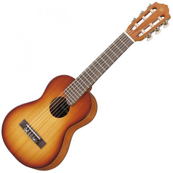 Custom Yamaha GL1 Guitalele 6 String Tobacco Sunburst Nylon Guitar Ukulele #1 image