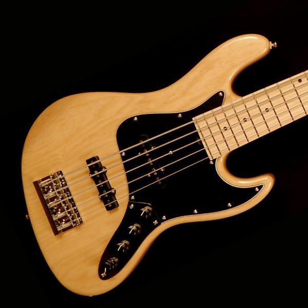 Custom Sadowsky Metro Series MV5 Bass Guitar - Natural - Sadowsky Metro Series MV5 Bass Guitar - #1 image