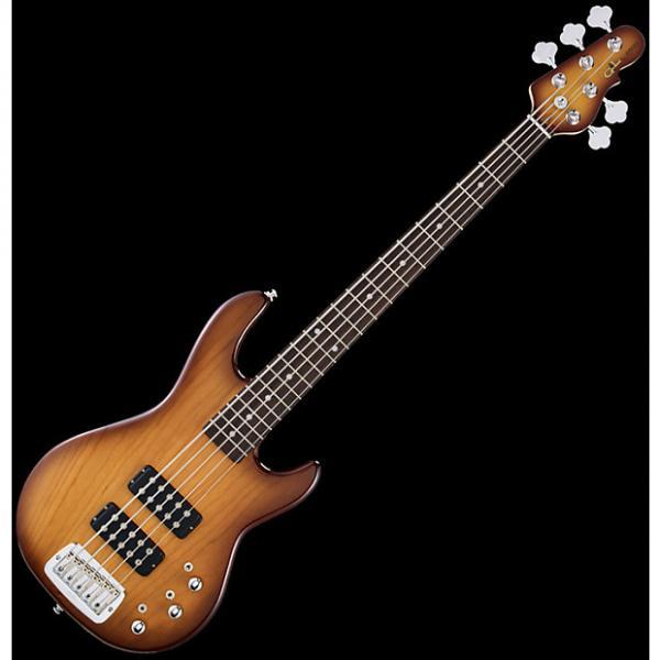 Custom G&L Tribute L-2500 Bass Guitar in Tobacco Sunburst Finish #1 image