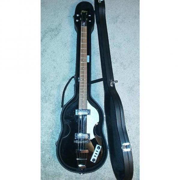 Custom Hofner B-Bass HI-Series - Black #1 image